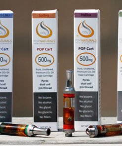 POP Naturals Cannabis Oil Cartridges