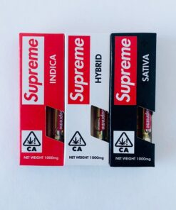 Supreme THC Oil Cartridge