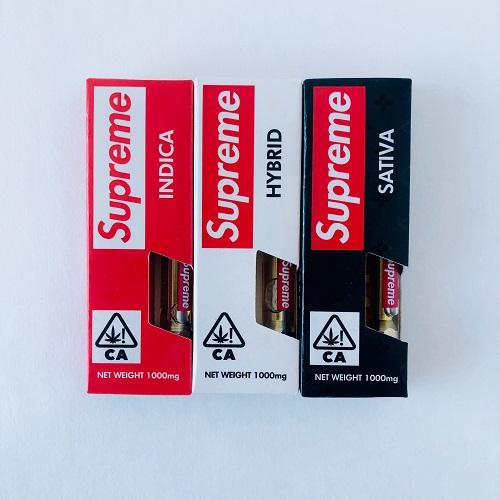 Supreme THC Oil Cartridge